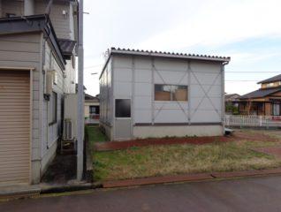富山市草島倉庫付き土地 サムネイル