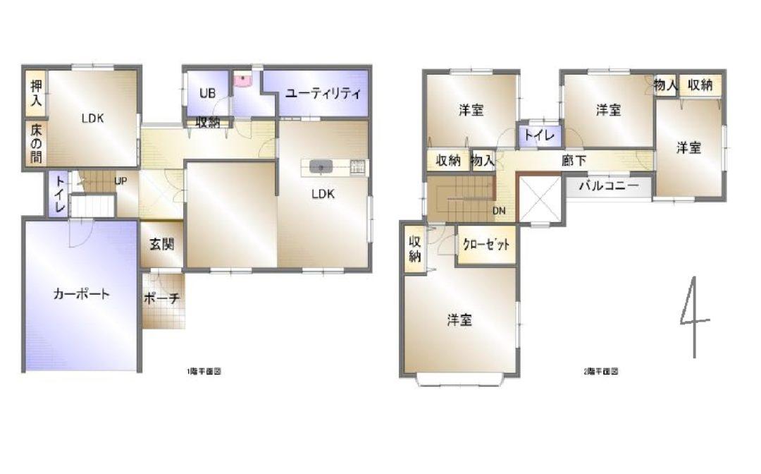 富山市水橋中村住宅図面