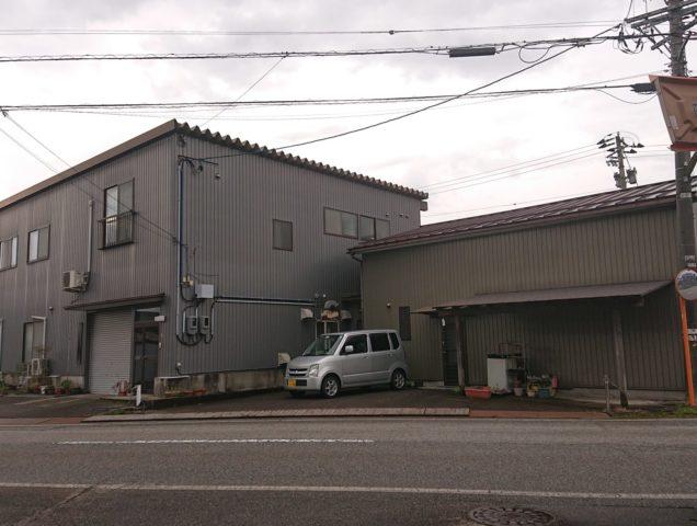 富山市水橋上砂子坂の売り工場
