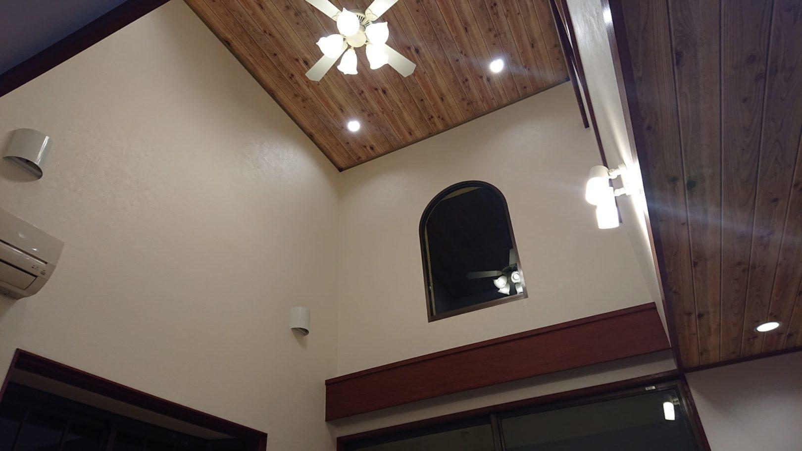 外壁、リビング改装工事 写真