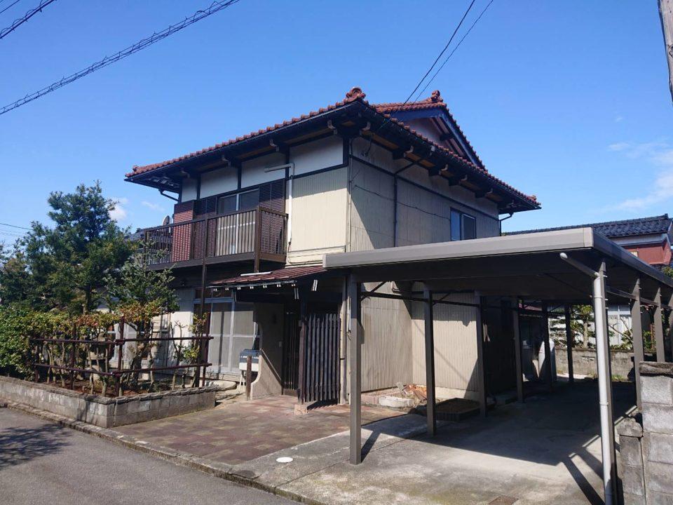 富山市長附一戸建住宅写真