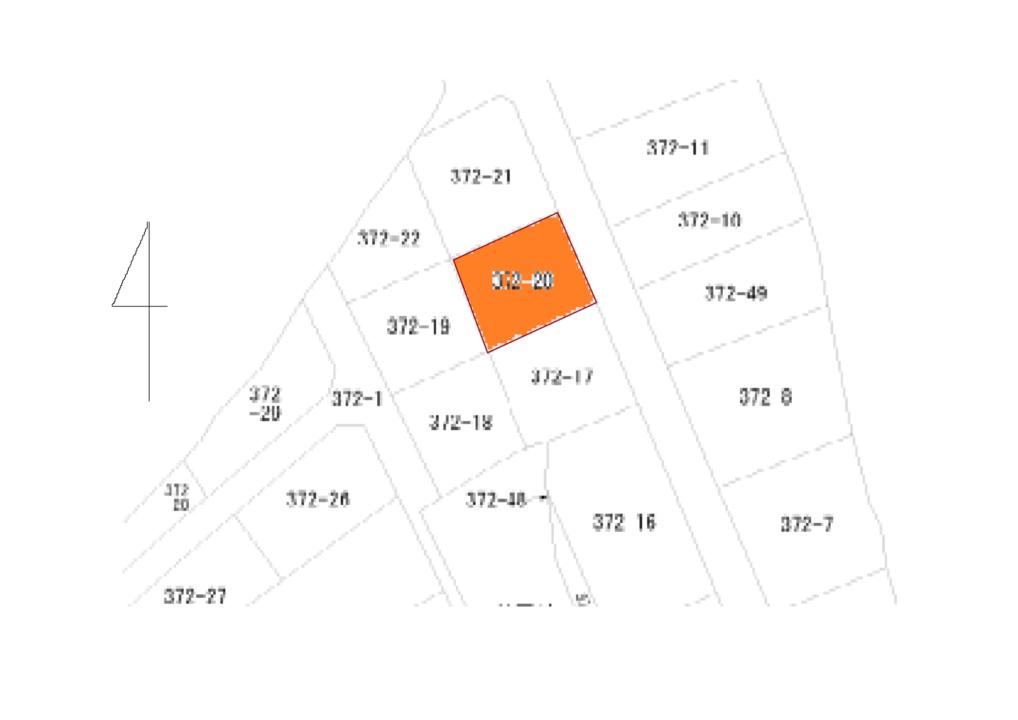 富山市城村(昭和新町)土地図面
