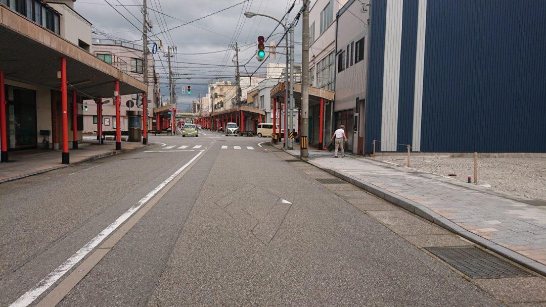 魚津市新宿の土地写真