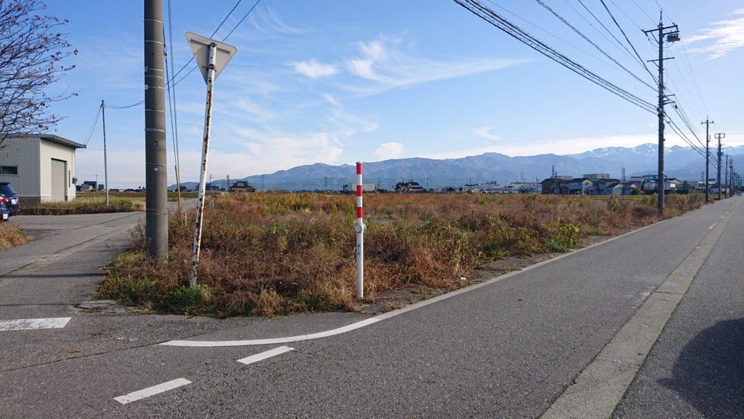 下新川郡入善町田中(吉原1区)の土地写真