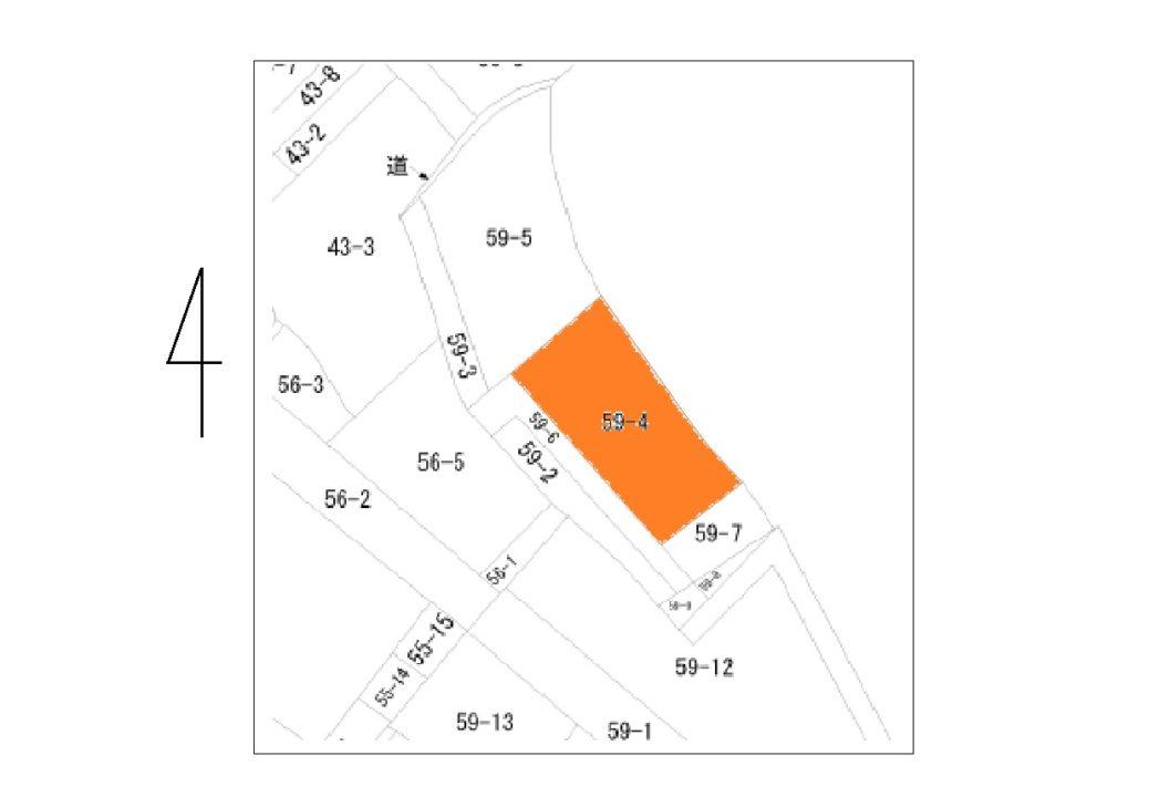 富山市大町(1区北部)土地図面