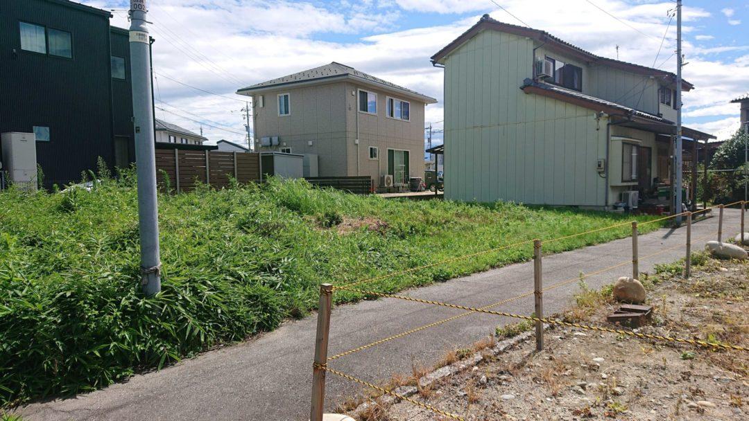 富山市大町(1区北部)土地写真