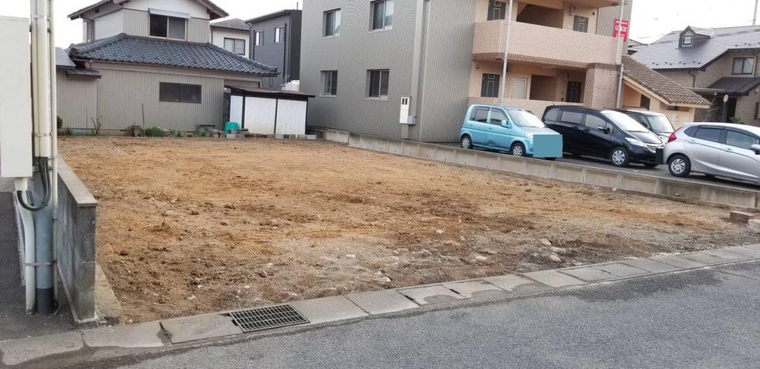 福井県鯖江市東米岡2丁目の土地写真